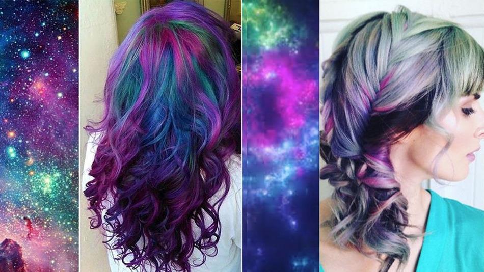 Cel Mai Nou Trend în Materie De Păr Galaxy Hair Toptabu Magazin